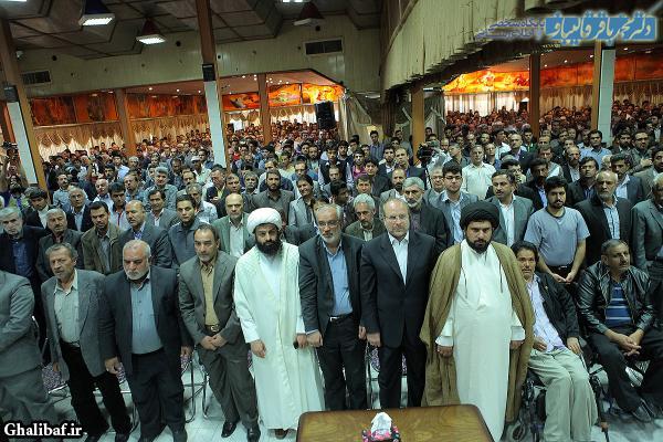 استقبال پرشور مردم شیراز از سخنرانی دکتر قالیباف در سفر به این شهر