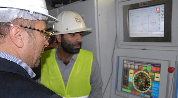 مراسم آغاز عملیات حفاری دومین دستگاه حفارمکانیزه تونل مترو
