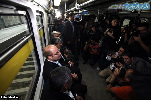 مراسم آغاز تست سرد نیمه جنوبی خط ۳ متروی تهران