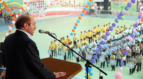 مراسم افتتاحیه اوقات فراغت تابستانی پایتخت و چهارمین المپیاد ورزشی محلات تهران