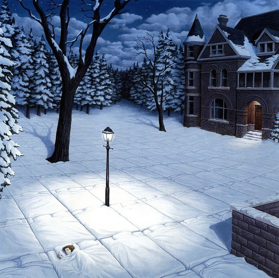 Rob Gonsalves Magic Realism
