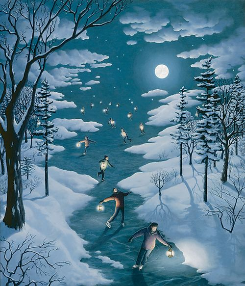 Rob Gonsalves Magic Realism Paintings
