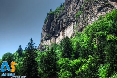 صومعه سومولا در شهر ترابزون -  الفبای سفر
