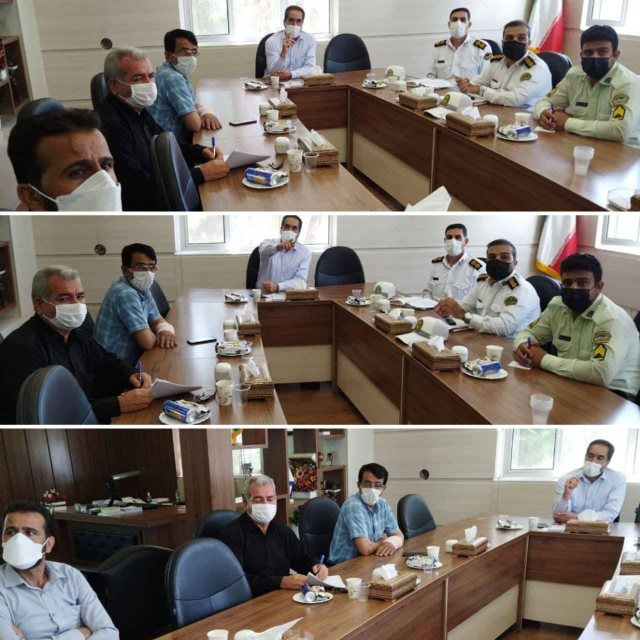 شهرداری وزوان :جلسه کمیته فرعی حمل و نقل و ترافیک با حضور شهردار