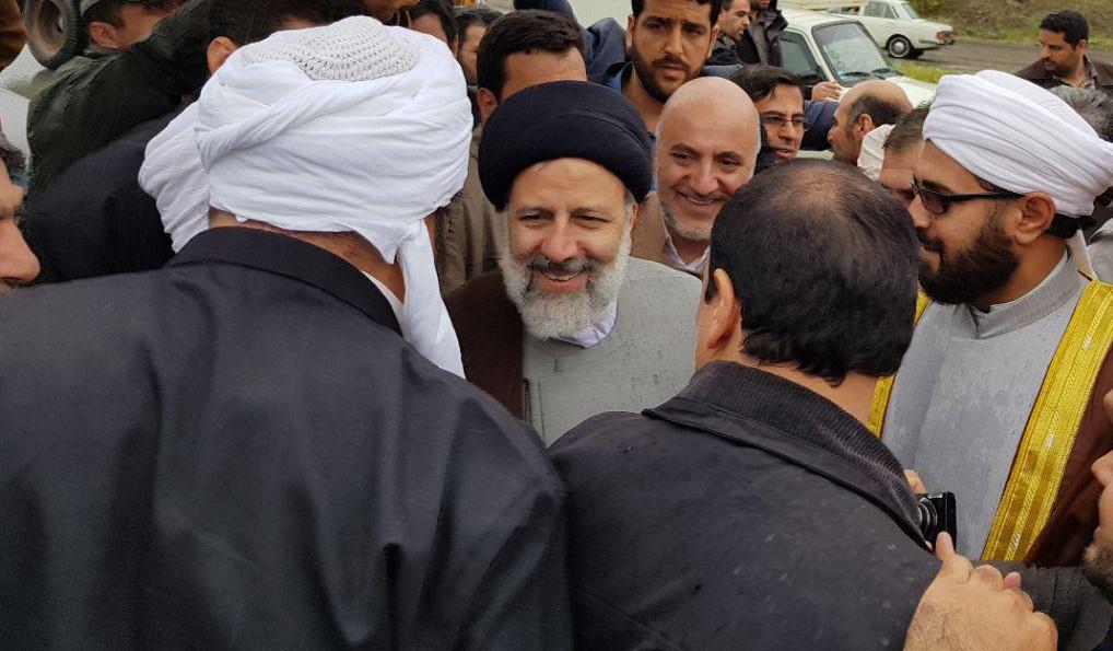 دیدار حجه الاسلام دکتر رئیسی با علمای اهل سنت کردستان