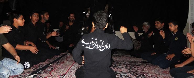 مجلس عزاداری شهادت امام رضا علیه السلام در شهر بردخون
