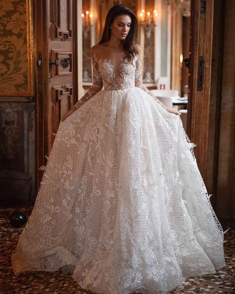 زیباترین لباس عروس 2019