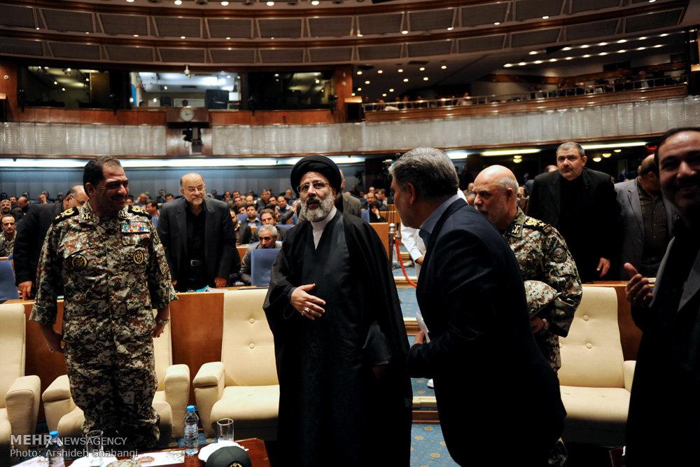 سخنرانی حجت الاسلام رئیسی در همایش پدافند غیرعامل