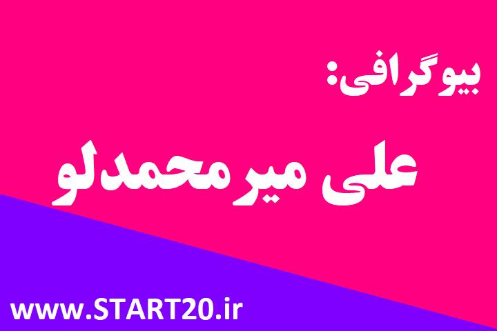 بیوگرافی علی میرمحمدلو