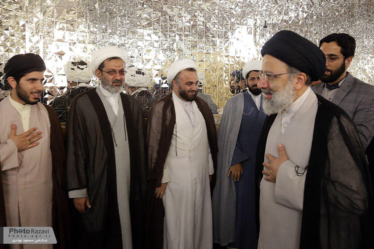 حجت الاسلام رئیسی: زیر سایه خورشید باید از خلاقیت، پویایی و نوآوری برخوردار باشند