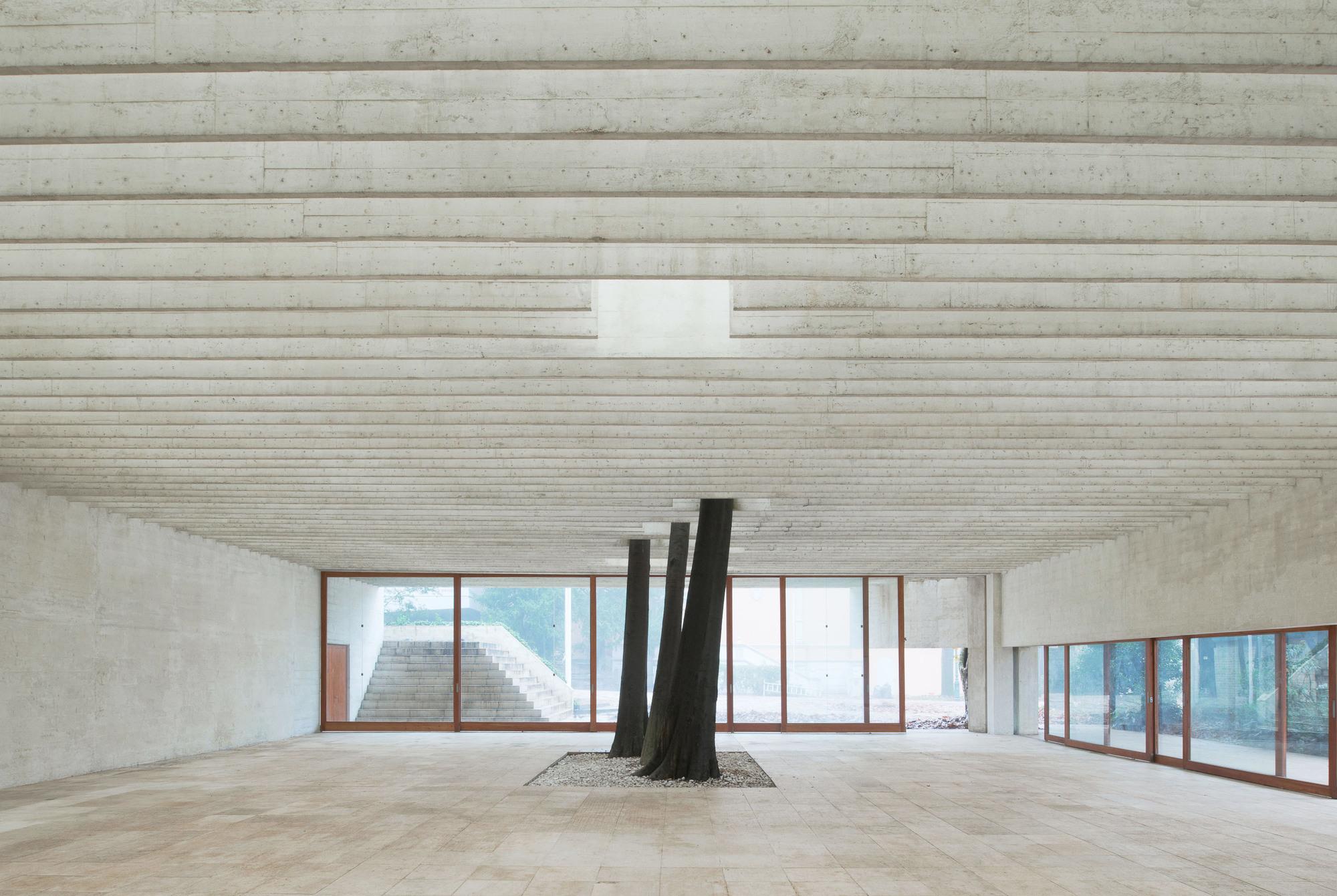 The Nordic Pavilion (Giardini, Venice).