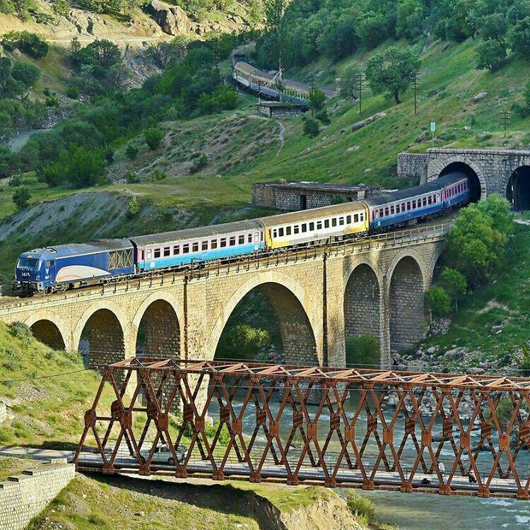 راه آهن لرستان تهران خوزستان