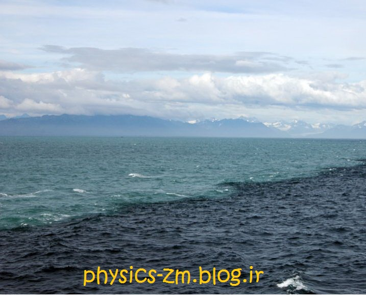 دو دریا که هیچ گاه با هم مخلوط نمی شوند !!!
