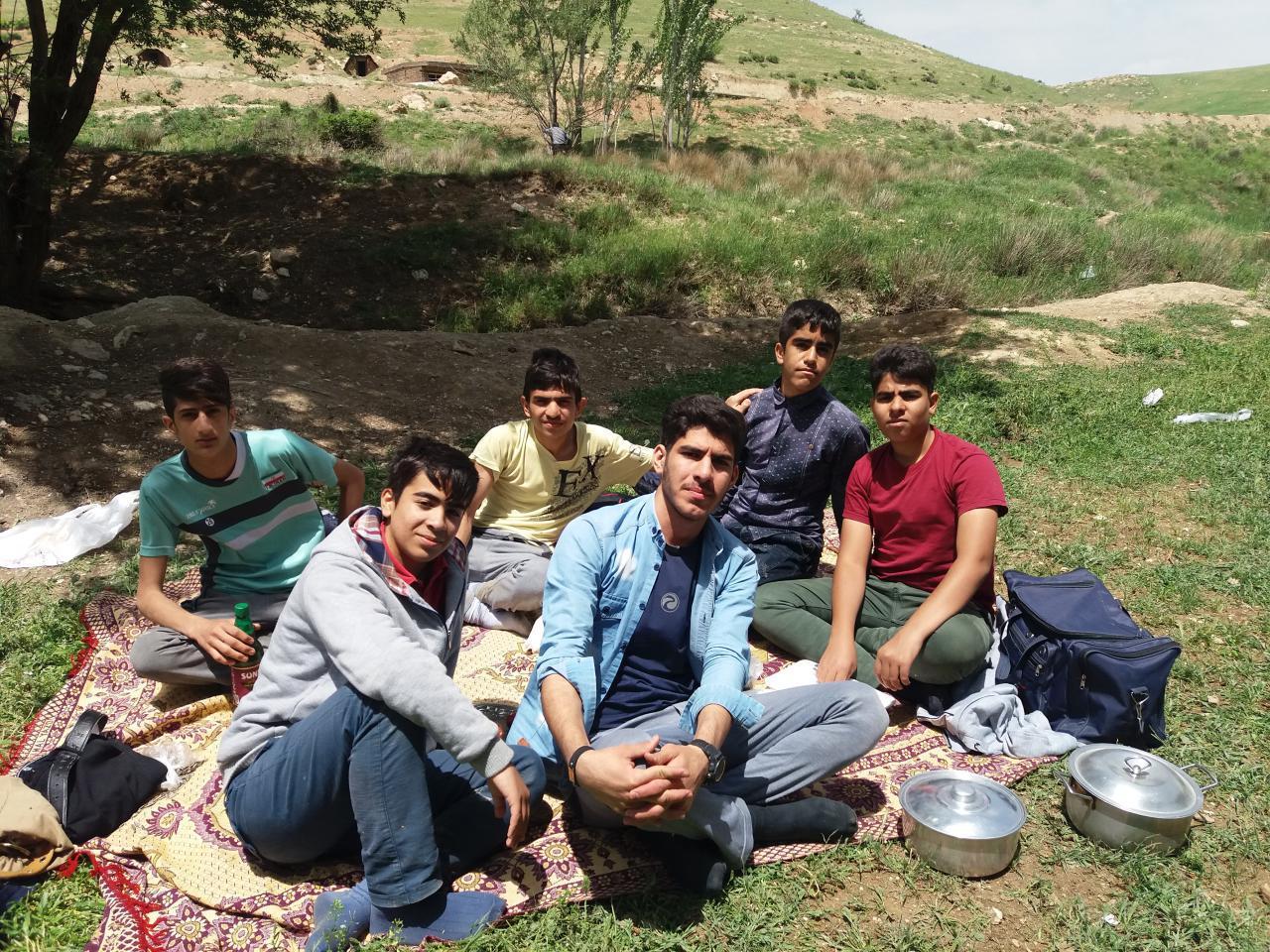 اردوی دبیرستان شاهد دورود سراب داریاب