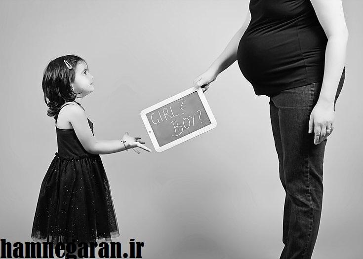 عکس کلاسیک بارداری