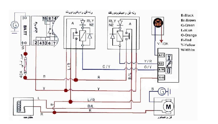 نقشه مدار ضبط ماشین