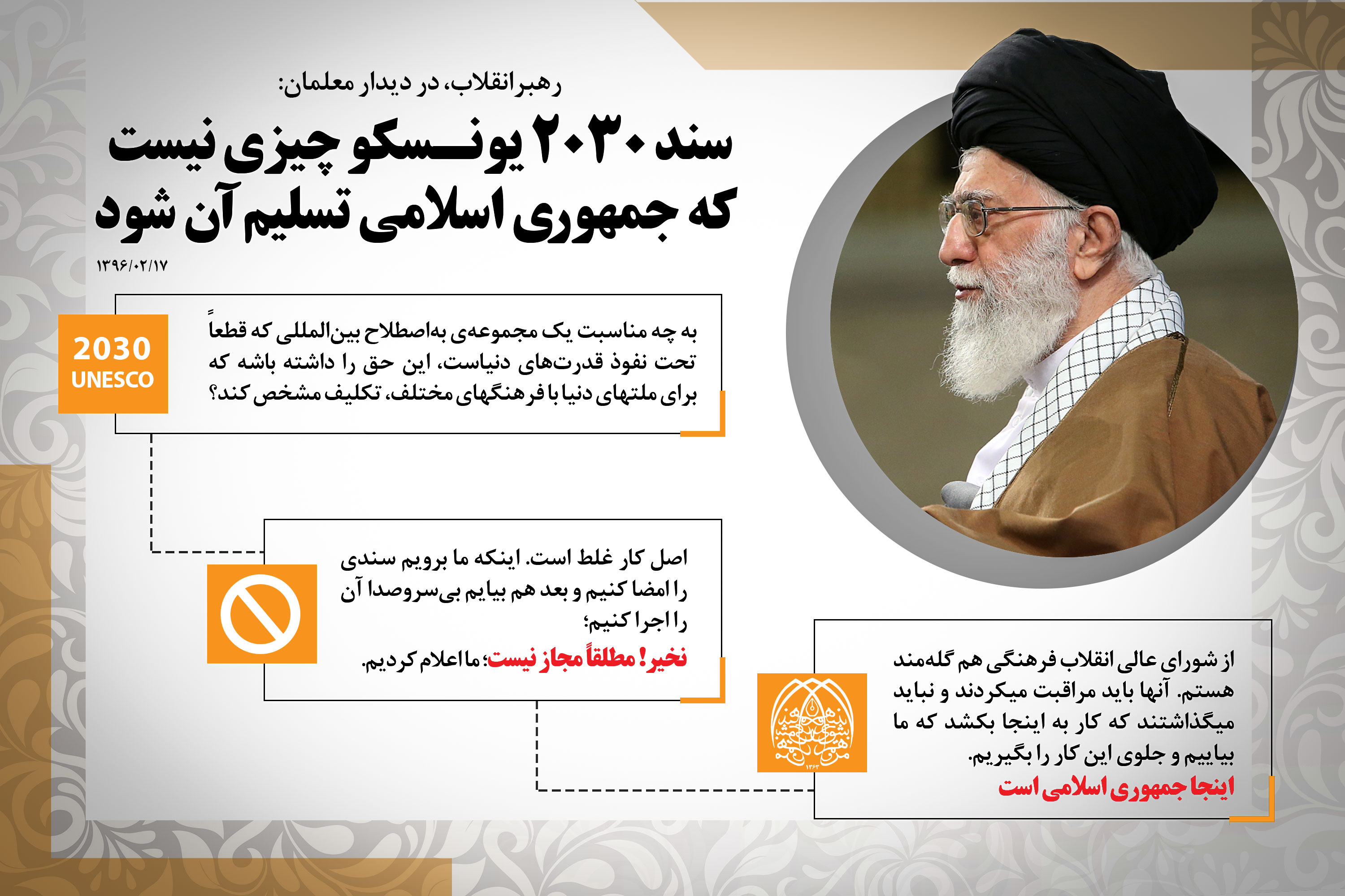 Image result for سند ۲۰۳۰ خامنه ای