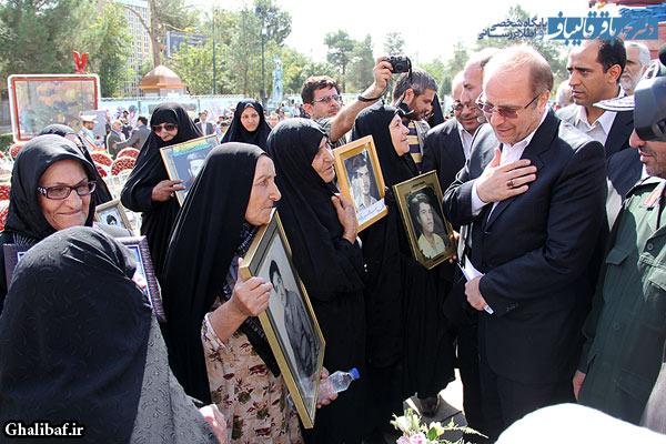 مراسم «زنگ دانش آموز شهید» در قطعه شهدای بهشت زهرا(س)