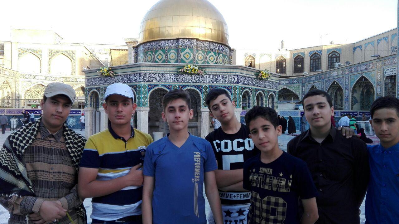 گزارش تصویری اردوی مشهد مقدس