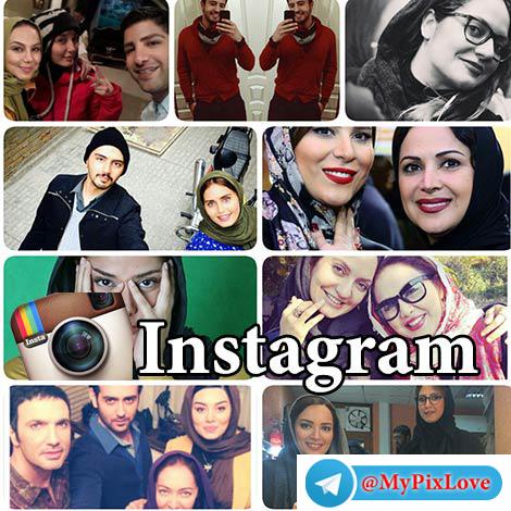 آدرس اینستاگرام بازیگران و هنرمندان ایرانی