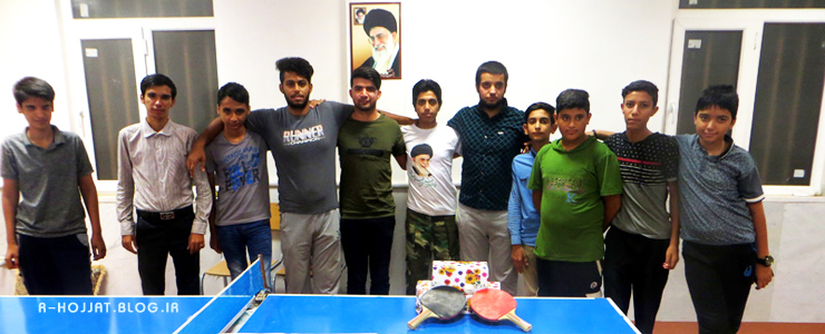 مسابقات پینگ پنگ جام رمضان در شهر بردخون برگزار شد