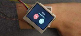 ابداع ساعت هوشمند ی که در تمام جهات می چرخد