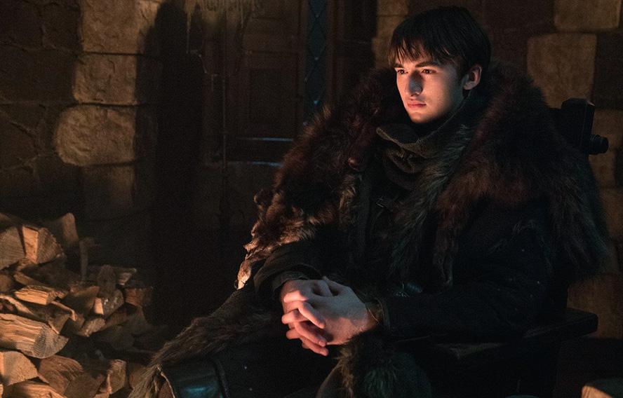 برن استارک Bran Stark (Isaac Hempstead Wright)