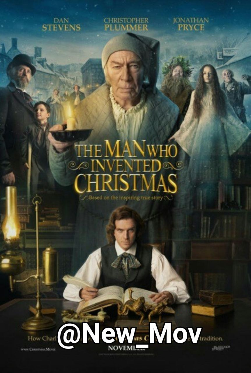 دانلود فیلم The Man Who Invented Christmas 2017