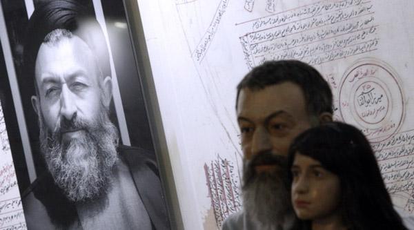 تقدیر ناطق نوری و خانواده شهید بهشتی از شهردار تهران