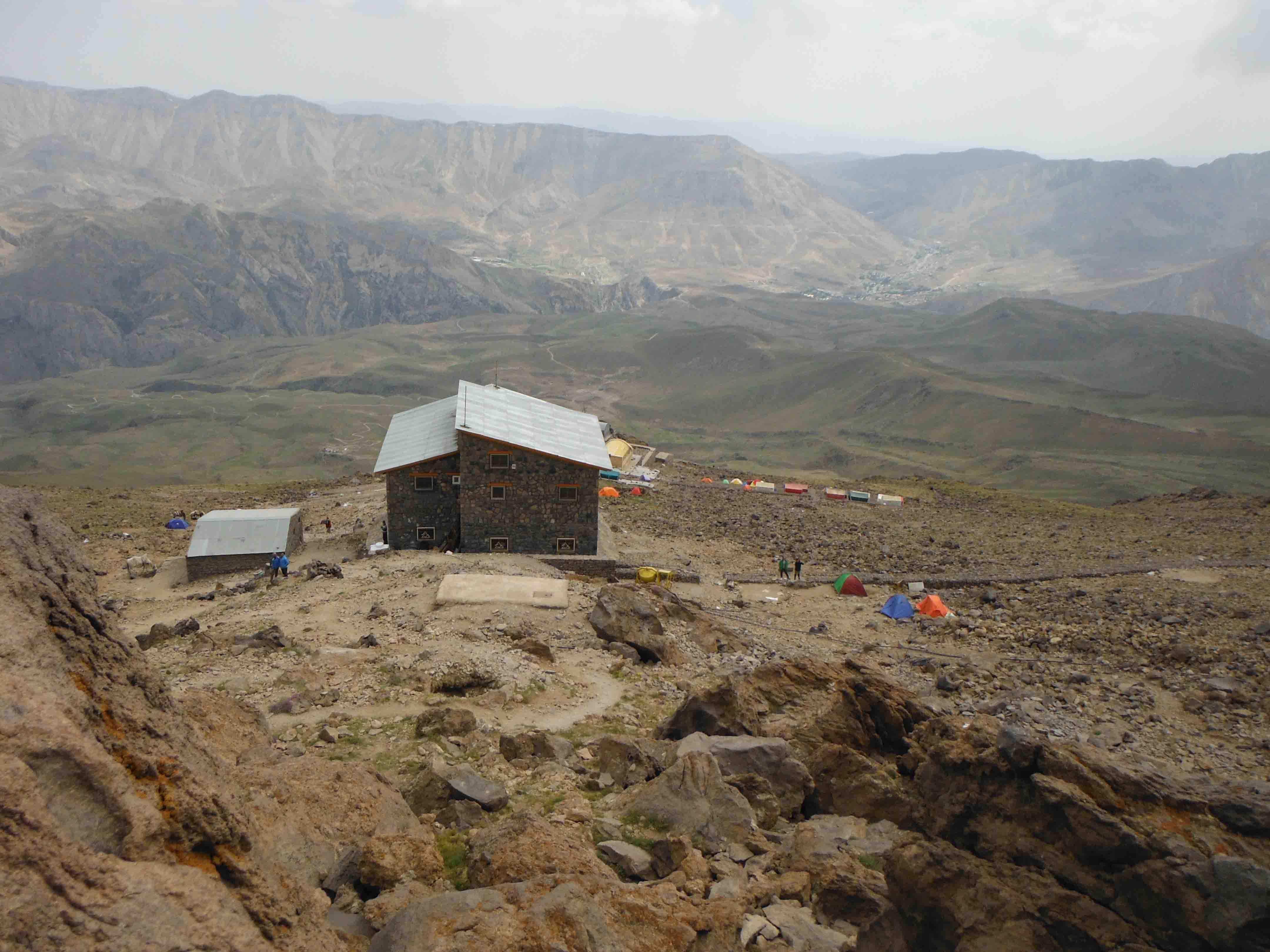 صعود قله دماوند از جبهه ی جنوبی (رینه)12 تیر 1394