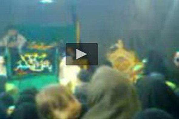 مرگ طفل شیرخوار با پنکه سقفی در مجلس مداحی !+ فیلم