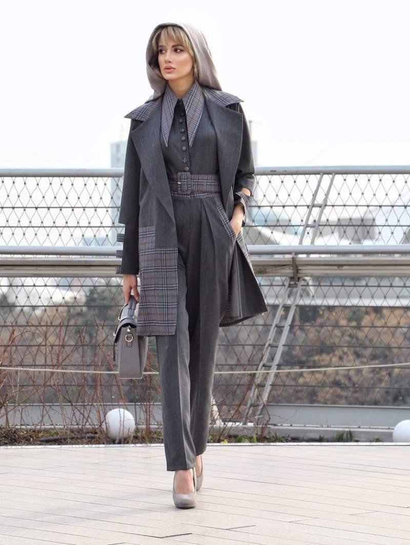 مدل مانتو پاییزی جدید دخترانه سرهمی با مدل خاص و ویژه