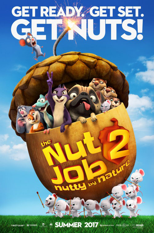 انیمیشن The Nut Job 2: Nutty by Nature 2017