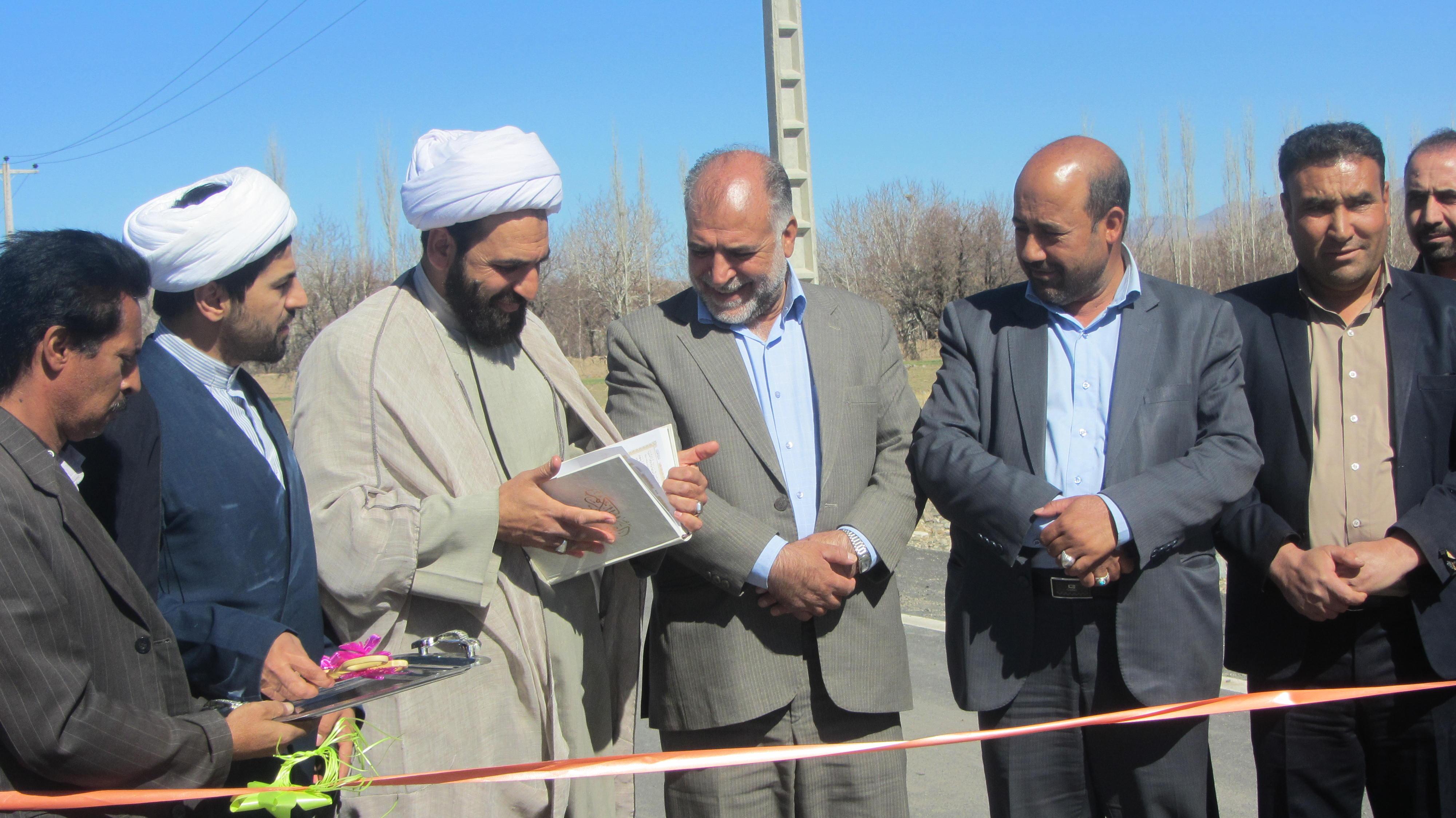 افتتاح 10 طرح عمراني در شهرستان بافت