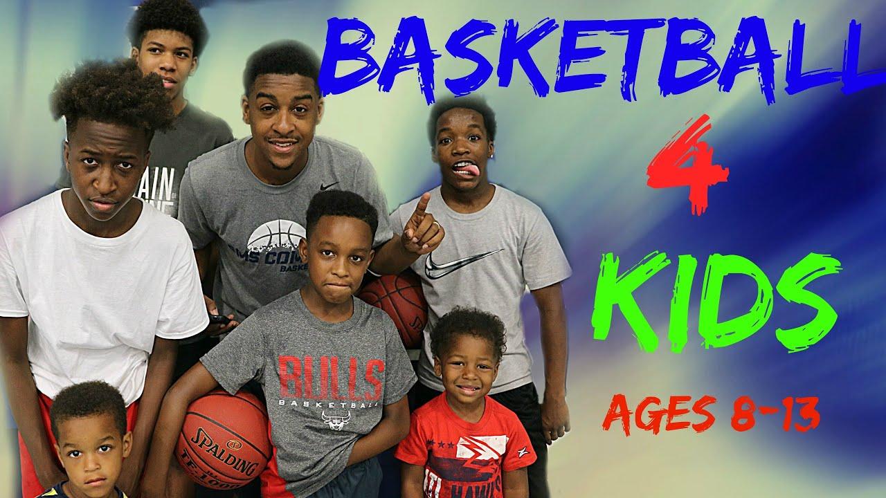 مجموعه تمرینات بسکتبال برای کودکان 8 تا 13 سال