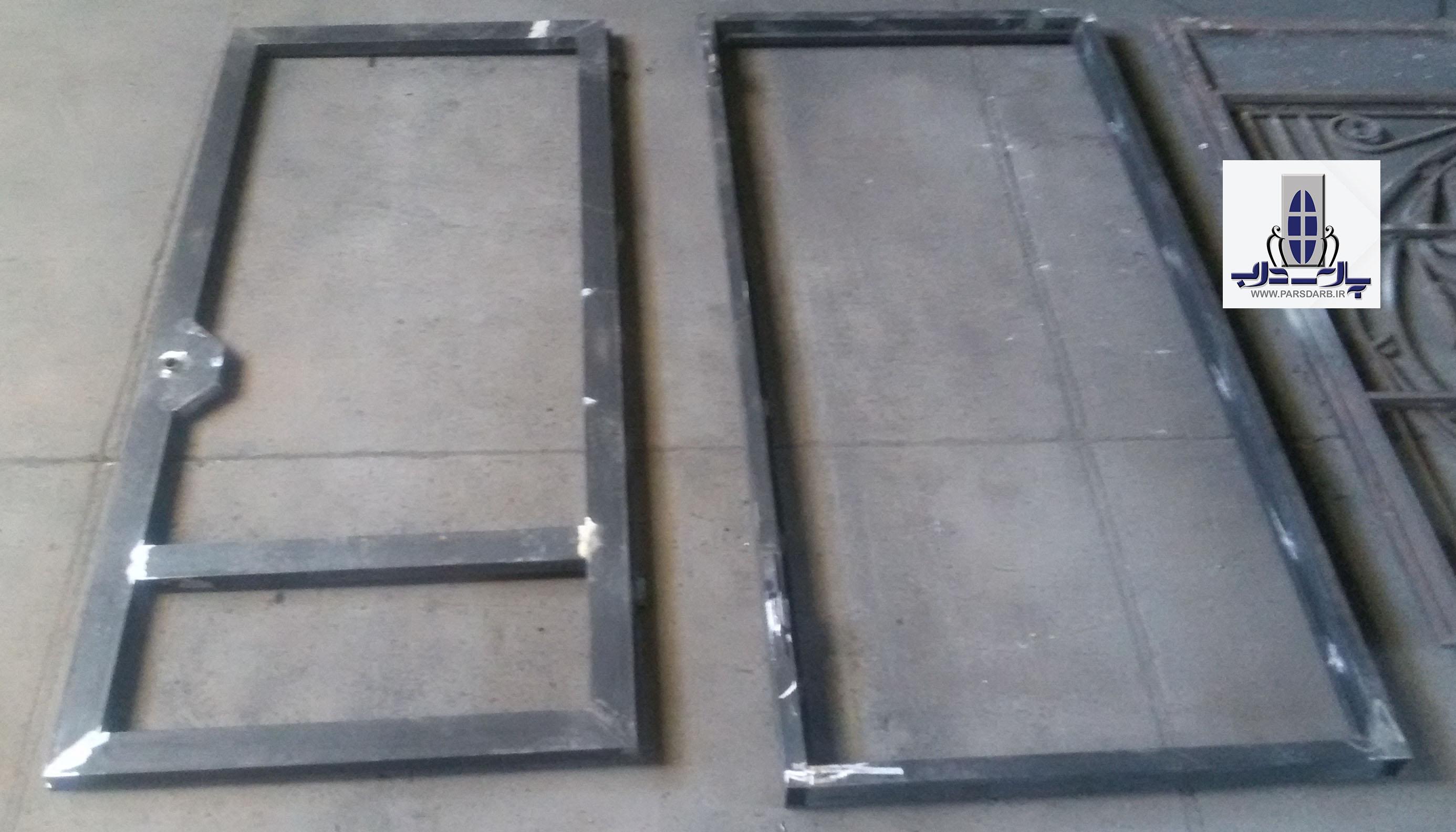 روش ساخت درب آهنی