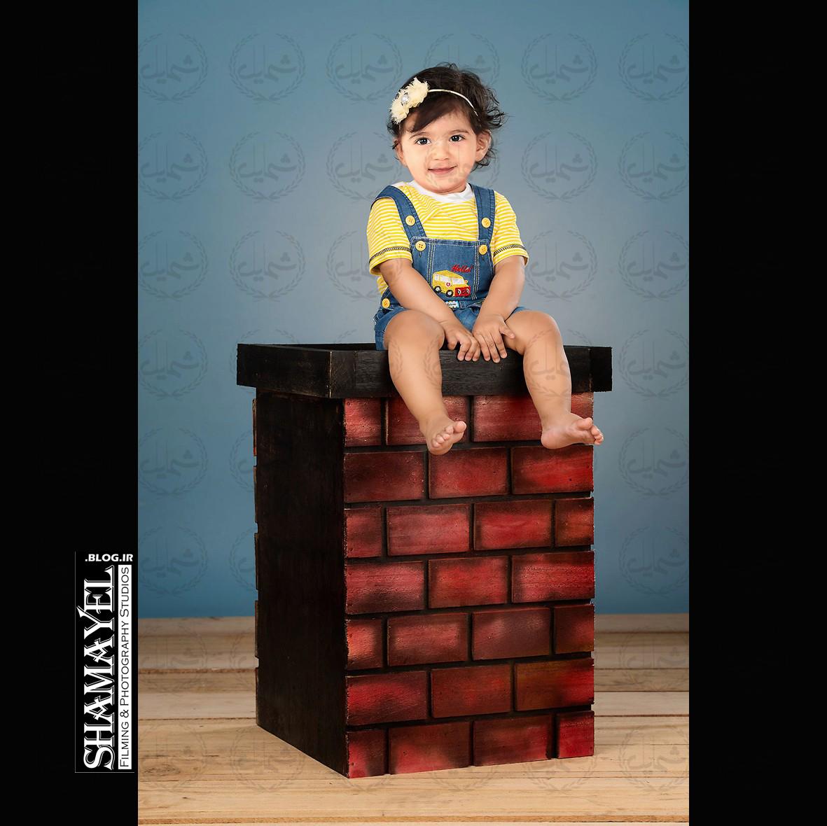 آتلیه تخصصی عکس کودک شمایل