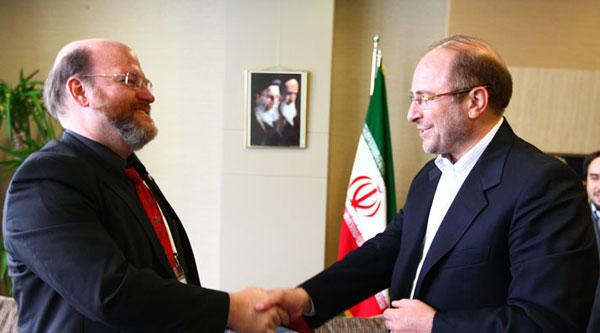 دیدار شهردار اسن آلمان با دکتر قالیباف در حاشیه اجلاس شهرداران آسیایی