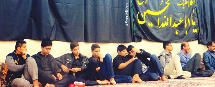 9 عکس از مراسم عزاداری اربعین حسینی در شهر بردخون