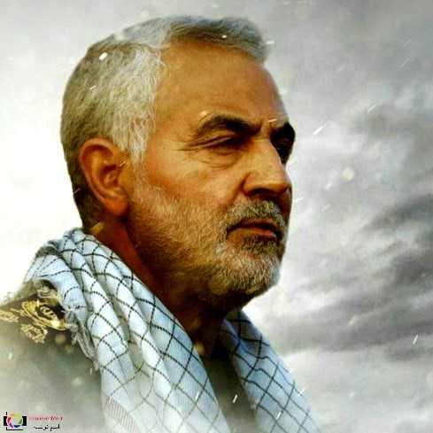عکس پروفایل سردار حاج قاسم سلیمانی به مناسبت شهادت ایشان