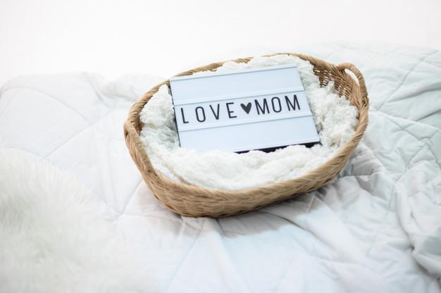 زیباترین عکس نوشته تبریک روز مادر i love you mom