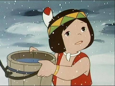 عکس کارتون های دهه 60: بچه های کوه تاراک