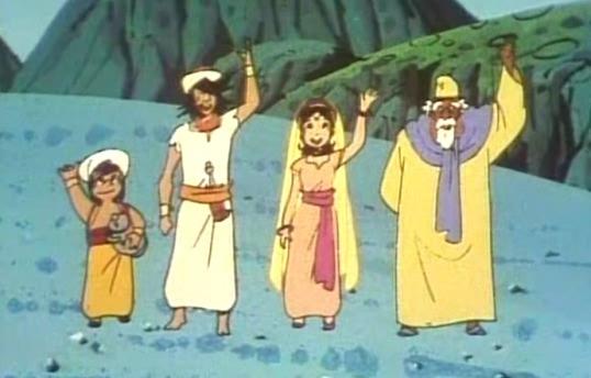 عکس کارتون های دهه 60: سندباد