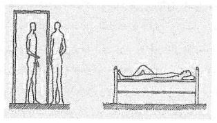 ورودی باید همان ارتفاعی را داشته باشد که افراد استفاده کننده از آن دارند، و یک تخت میبایست همان ابعادی را داشته باشد