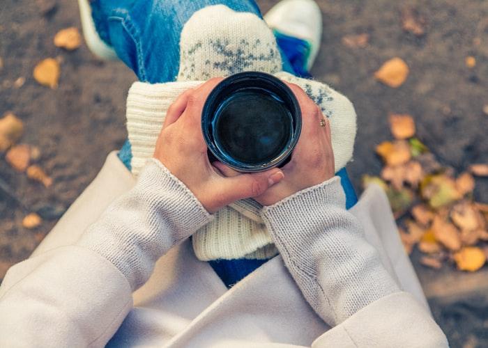 استوری فنجان چای در پاییز اب کیفیت FULL hd