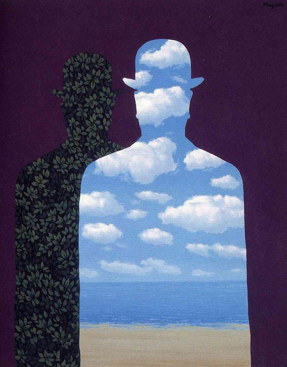 Hight Society by Rene Magritte