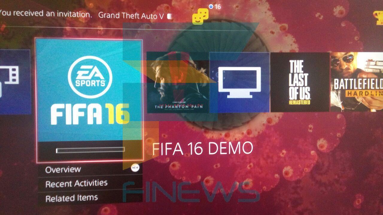 FIFA 16 Demo on PS4