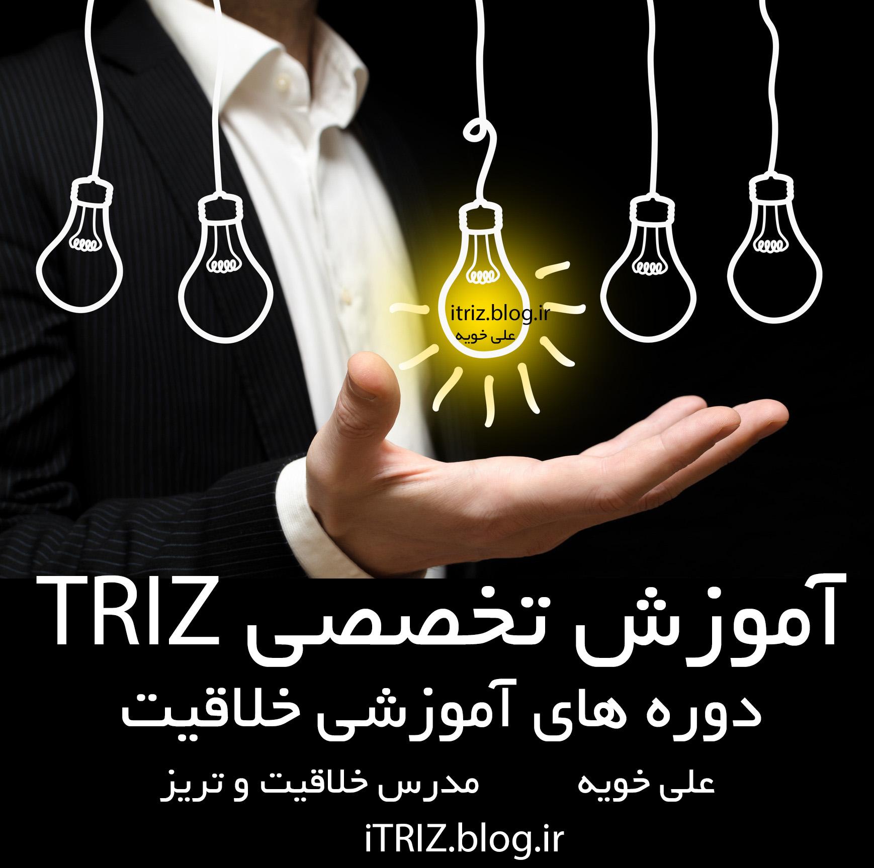 triz آموزش تخصصصی تریز و خلاقیت ، کلاس های خلاقیت