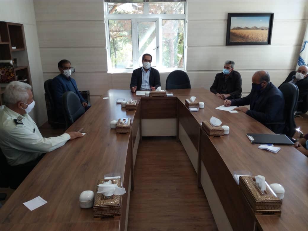 شهر داری وزوان :جلسه فوق العاده ستاد مدیریت بیماری کرونا شهر وزوان
