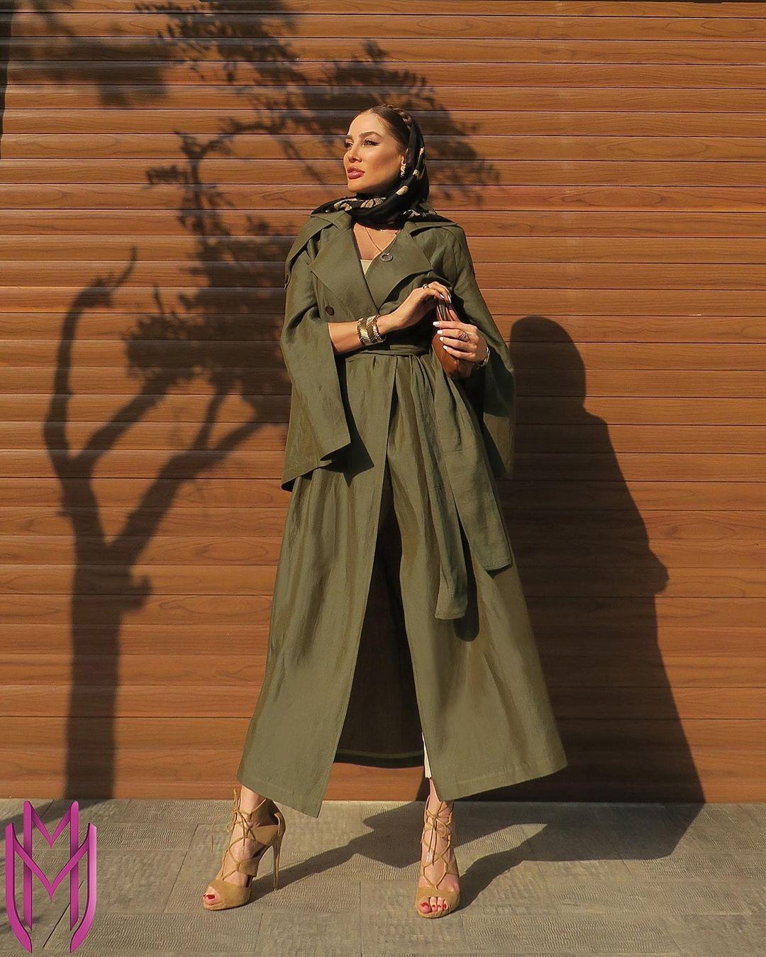 مدل مانتو جدید تابستانی دخترانه بلند با پارچه خنک